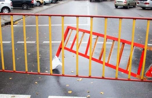 В центре Днепра на полтора года перекроют тротуар