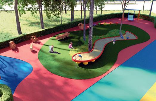 В Днепре строят первый в Украине инклюзивный парк