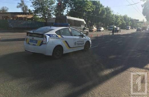 ДТП с участием патрульных произошло в Кривом Роге