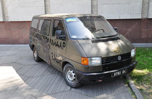 Пополнилась уличная экспозиция Днепровского музея АТО