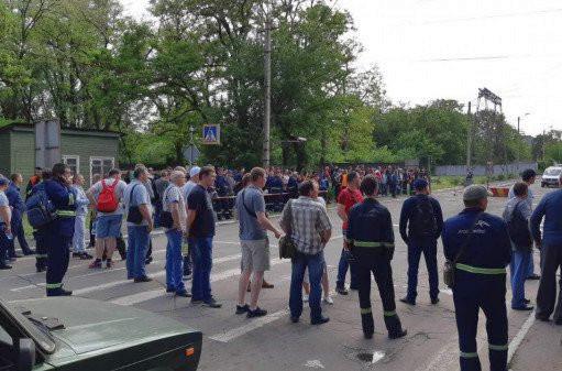 Забастовка на «АрселорМиттал Кривой Рог»: в Украине остановился металлургический гигант