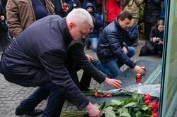 В Днепре почтили память Героев Небесной Сотни (ФОТО)