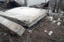 Днепровский район: мужчину погребла железобетонная плита (ФОТО, ВИДЕО)