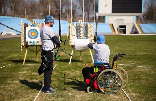 В Днепре прошла областная спартакиада для бойцов АТО с инвалидностью (ФОТО)