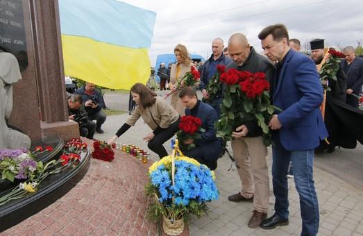 В Днепре почтили память погибших бойцов АТО