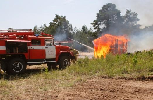 На Днепропетровщине в уик-энд сохранится чрезвычайная пожарная опасность