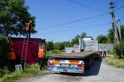 В Днепре демонтировали еще одну «наливайку» (ФОТО)