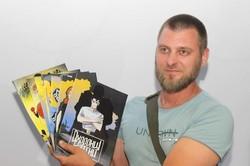«Охранники страны». В Днепре презентовали первый комикс, посвященный АТОшникам (ФОТО)