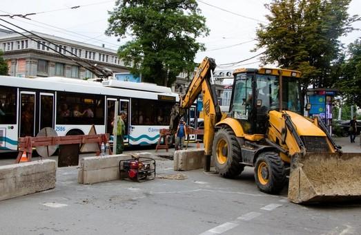Улицу Короленко засадят платанами и кустами – мэрия