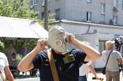 В Днепре стартовали учения пожарных-добровольцев по программе «U-LEAD с Европой» (ФОТО)