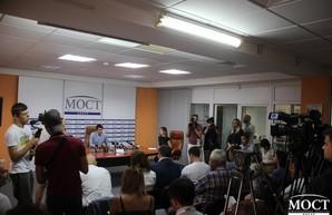 В Днепре представили кандидатов-мажоритарщиков от партии «Слуга Народа»