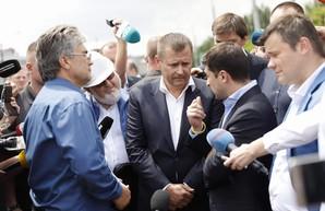 Зеленский и Филатов заключили пари: В случае проигрыша мэр уйдет в отставку (ФОТО)