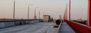 В Днепре полностью перекроют Новый мост