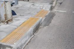 В Днепре на Запорожского шоссе появился «островок безопасности» (ФОТО)