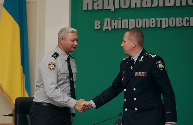 Полицию Днепропетровской области возглавил правоохранитель со стажем (ФОТО, ВИДЕО)