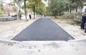 В Днепре продолжаются системные реконструкции дворов, внутриквартальных дорог и тротуаров