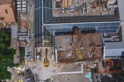 В центре Днепра приступили к демонтажу ТРЦ Grand Plaza (ФОТО)