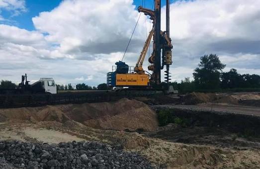 Начато строительство транспортной развязки на трассе Днепр – Киев (ФОТО)