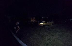 Ночная погоня со стрельбой: полицейские преследовали «Москвич», протаранивший авто патрульных