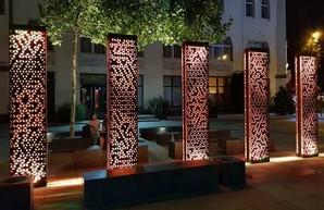 Светящиеся панели с орнаментом вышиванок: в Днепре появилось новое место для сэлфи (ФОТО)