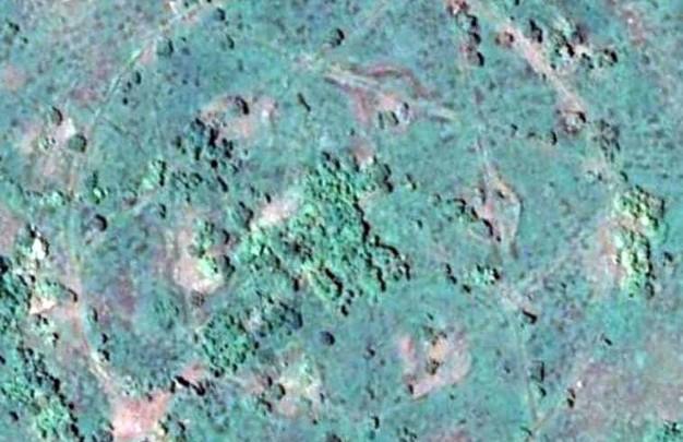 Неподалеку от Кривого Рога обнаружили заброшенную военную базу в форме звезды Давида (ФОТО, ВИДЕО)